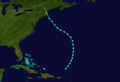 1923 Atlantic tropical storm 7 track.png