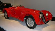 1938 Alfa Romeo 8C 2900B Mille Miglia from the Ralph Lauren car collection