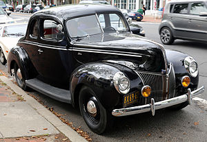 1937 Ford - 1940 Ford Standard Business Coupe