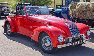 Allard M - Image: 1948 Allard M type 3.9 Front