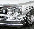1960 Pontia Star Chief Headlights (7309987676).jpg
