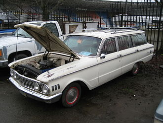 Mercury Comet - 1961 Comet 4-door station wagon