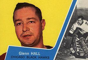 Glenn Hall - Glenn Hall 1963 trading card