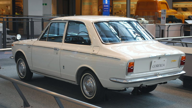 Details about TOYOTA COROLLA KE10 KE11 2door sedan front windshield