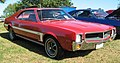 1969 Javelin SST red w white C-stripe fr.jpg