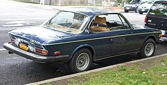 BMW E9 - 1974 BMW 3.0 CS (U.S. model)