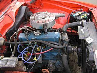 Holden straight-six motor - 1.9-litre Starfire motor in a 1976 LX Sunbird