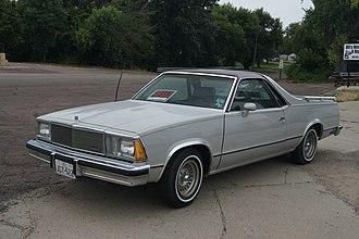 GMC Sprint / Caballero - 1980 GMC Caballero