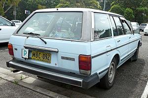 Datsun Bluebird (910) - Image: 1982 Datsun Bluebird (P910) GX station wagon (2009 10 29) 02