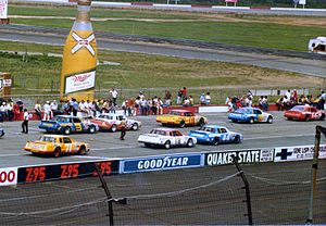 1984 NASCAR Winston Cup Series - Cup cars at Van Scoy Diamond Mine 500 at Pocono