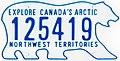 1986 Northwest Territories license plate 125419.jpg