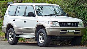 Beautiful 1998 Toyota Land Cruiser Prado (VZJ95R) GXL 5 Door Wagon (2011