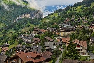 Wengen Former municipality of Switzerland in Bern