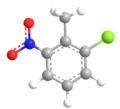 2-Chloro-6-nitrotoluene 3D.png