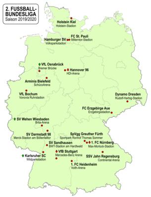 2 Fussball Bundesliga 2019 20 Wikipedia