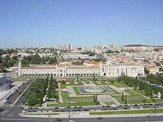 National Archaeology Museum (Portugal) - The Praça do Império in the Belém District where the Museum is located