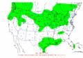 2003-01-26 24-hr Precipitation Map NOAA.png