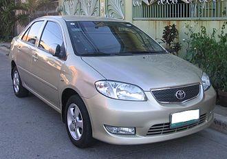 Toyota Vios - 2003–2005 Toyota Vios G (Philippines)