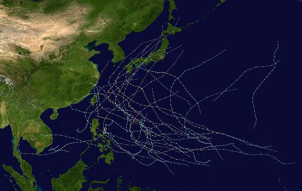 2004 Pacific typhoon season summary