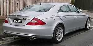Mercedes-Benz CLS-Class - Pre–facelift Mercedes-Benz CLS 350 (Australia)