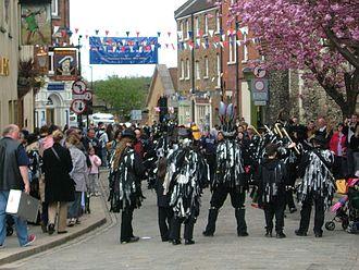 Rochester, Kent - Sweeps festival in 2006