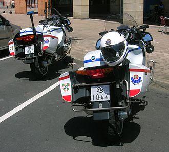 Ertzaintza - Ertzaintza BMW motorbikes