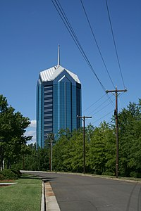 2008-08-11 University Tower from Petty Rd.jpg