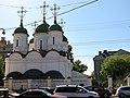 2011-05-12 Вид на Храм Живоначальной Троицы в Листах со стороны Сретенки - panoramio.jpg