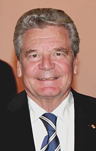 Prague Declaration on European Conscience and Communism - Founding signatory Joachim Gauck