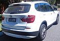 2012 BMW X3 (F25) xDrive20d wagon (2016-01-26) 02.jpg