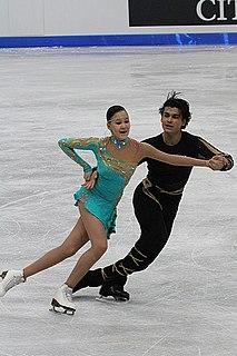Karina Uzurova ice dancer