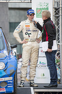 Craig Breen Irish rally driver