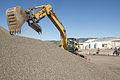 2013 ConstructionDay Track Hoe longshot (8770981497).jpg