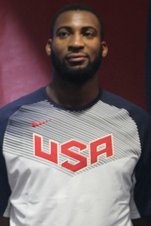 Andre Drummond - Drummond with Team USA at the 2014 World Basketball Festival