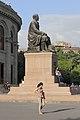 2014 Erywań, Pomnik Hovhannesa Tumaniana (03).jpg