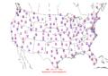 2015-10-22 Max-min Temperature Map NOAA.png