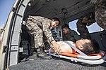 2015.9.22 육군 의무후송항공대 '메디온' Aeromedical evacuation 'MEDEON', Republic of Korea Army Aviation Operation Command (22766940186).jpg