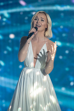 A Million Voices (song) - Polina Gagarina performing the song at Eurovision Song Contest 2015, representing to Russia.