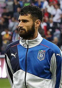 Antonio Candreva - the cool, hot,  football player  with Italian roots in 2017