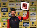 2015 Tour of Britain - winner Combativity Prize Owain Doull.JPG