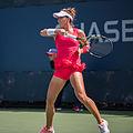 2015 US Open Tennis - Qualies - Alexandra Panova (RUS) (26) def. Paula Kania (POL) (20964805966).jpg