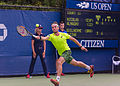 2015 US Open Tennis - Qualies - Guilherme Clezar (BRA) def. Nicolas Almagro (ESP) (12) (20964254220).jpg