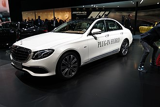 Mercedes-Benz E-Class (W213) - E350e Plug-in Hybrid