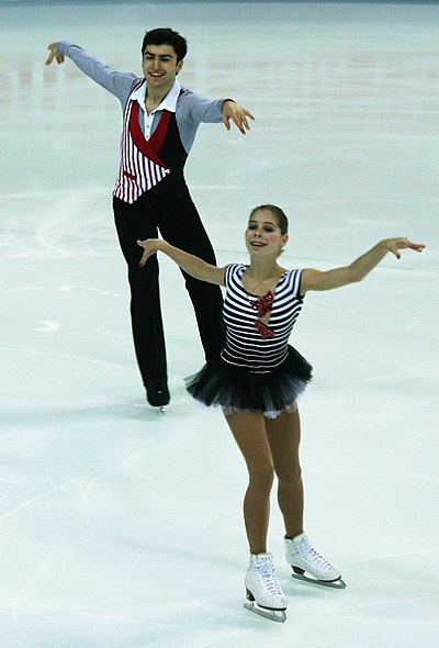 Anastasia Mishina and Vladislav Mirzoev had scored once above 180 points and four times above 172 points. Thrice they had scored above 62 points in the short program and twice above 113 points in free skating.