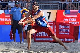 Ryan Doherty - Image: 20170729 Beach Volleyball WM Vienna 3215