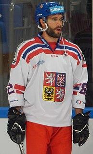 Michal Řepík Czech ice hockey player