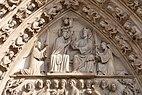 2017 Tympanum of the Portail de la Vierge. Notre-Dame de Paris P57.jpg