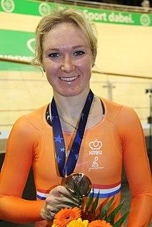 Amy Pieters Dutch racing cyclist