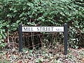 2018-08-12 Street name sign, Mill street, Gimingham.JPG