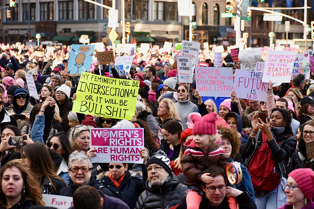 2018 New York City Women's March (28040480439).jpg